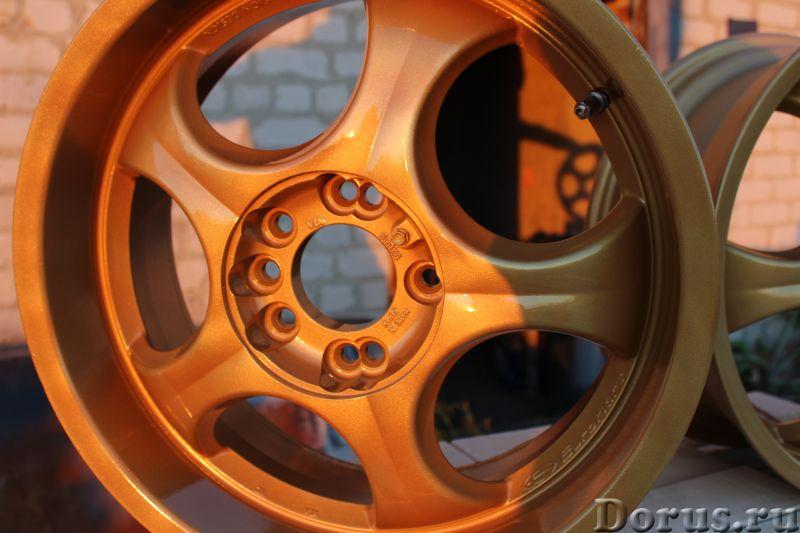 Порошковая покраска дисков - Автосервис и ремонт - Песочим и красим диски и любые йзделия звоните по..., фото 2