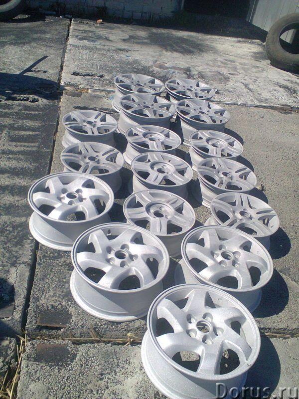 Порошковая покраска дисков - Автосервис и ремонт - Песочим и красим диски и любые йзделия звоните по..., фото 3